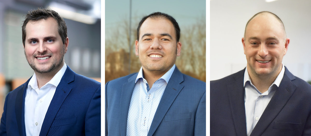 New Partners: Patrick Darby, Matt Ninomiya, and Russ Parnell