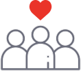 Community Building Icon
